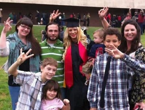Becky graduated from UH